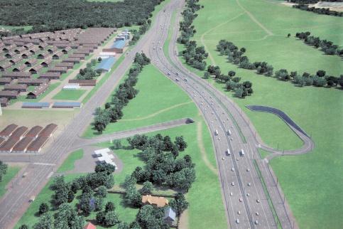К 2035 вНовой столице построят порядка 700км новых дорог