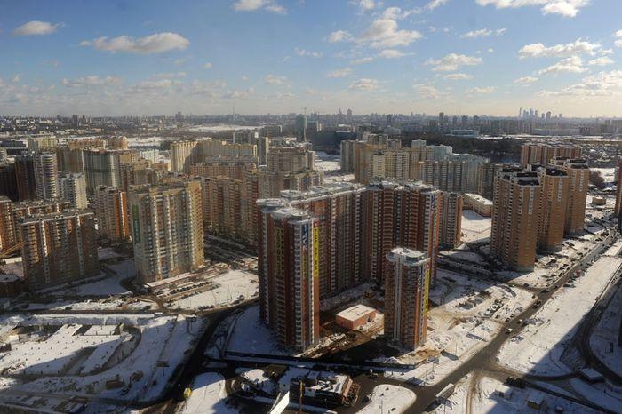 Доконца года Новая Москва получит млн. квадратных метров недвижимости