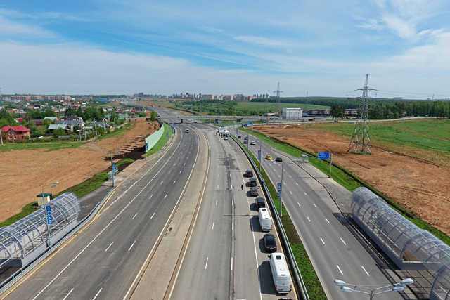 Свыше 7,5км шумозащитных дисплеев установят при реконструкции Калужского шоссе
