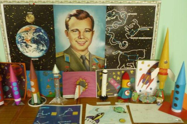 Знакомство с днем космонавтики в доу